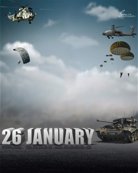 Happy 26 January  Day PicsArt Editing Background