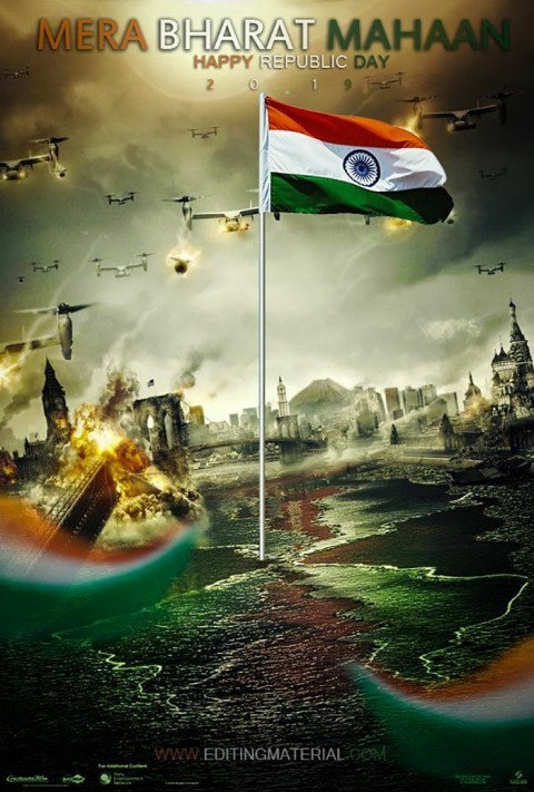 26 January Republic Day Editing Background HD