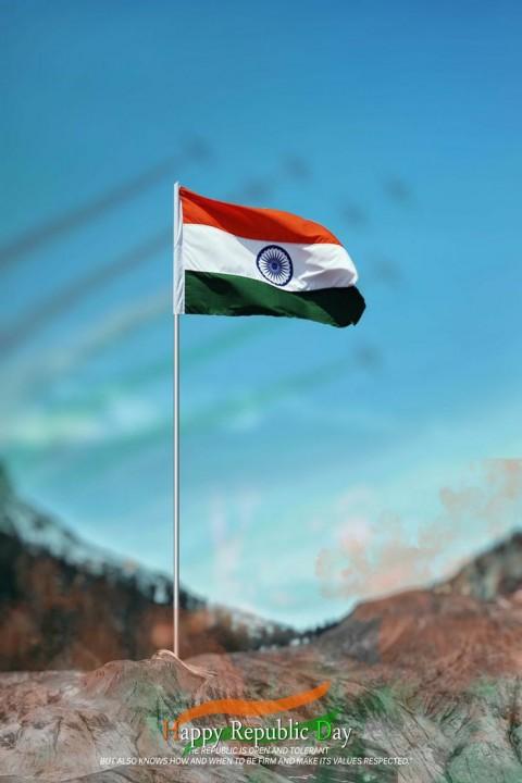 26 January Republic Day Photo Editing Background