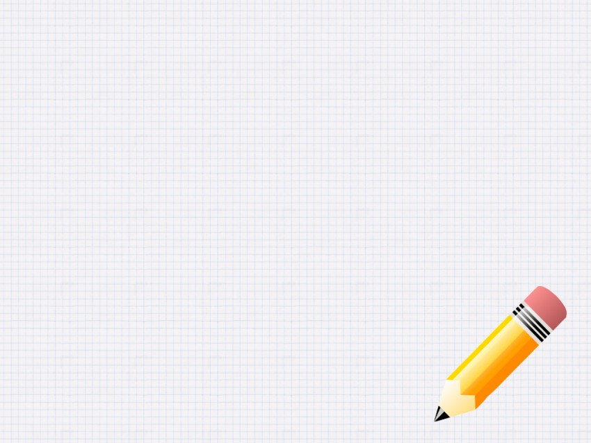 Academic PowerPoint Background With Pencil