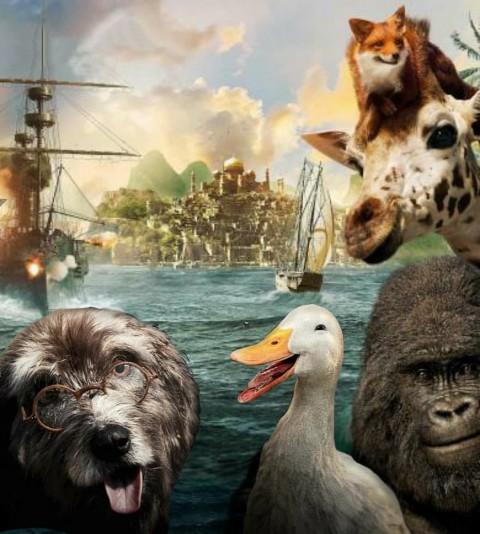 Animal Poster Picsart Background