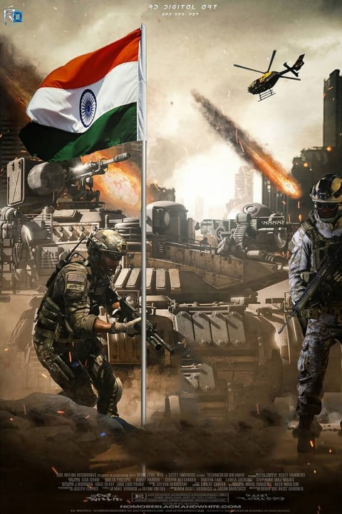 Army 26 January Republic Day Editing Background