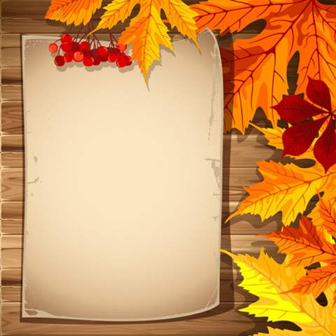 Autumn Fall PPT PowerPoint Templates Background