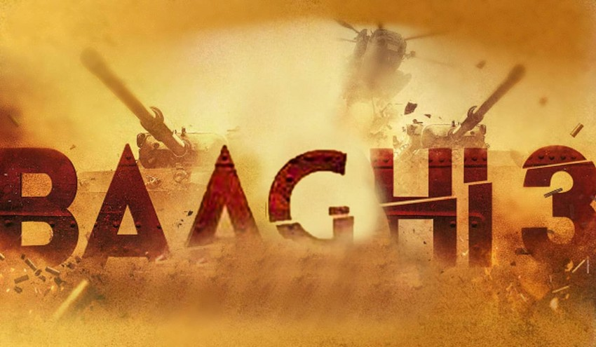 Baaghi 3 Movie Poster Editing background FUll HD PicsArt