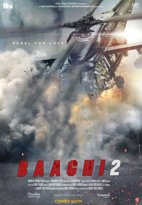 Baaghi Movie Poster CB Background