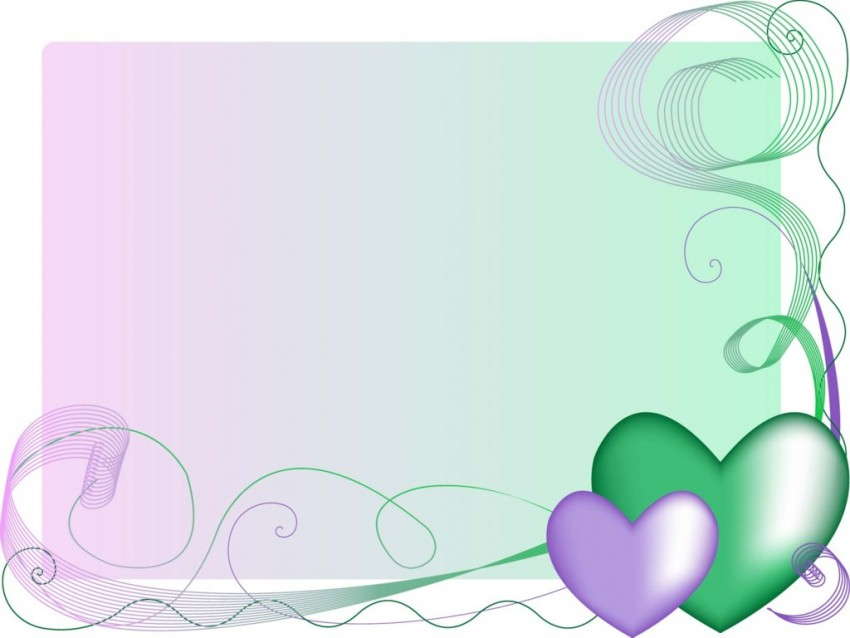 Baby Love Heart PPT PowerPoint Background