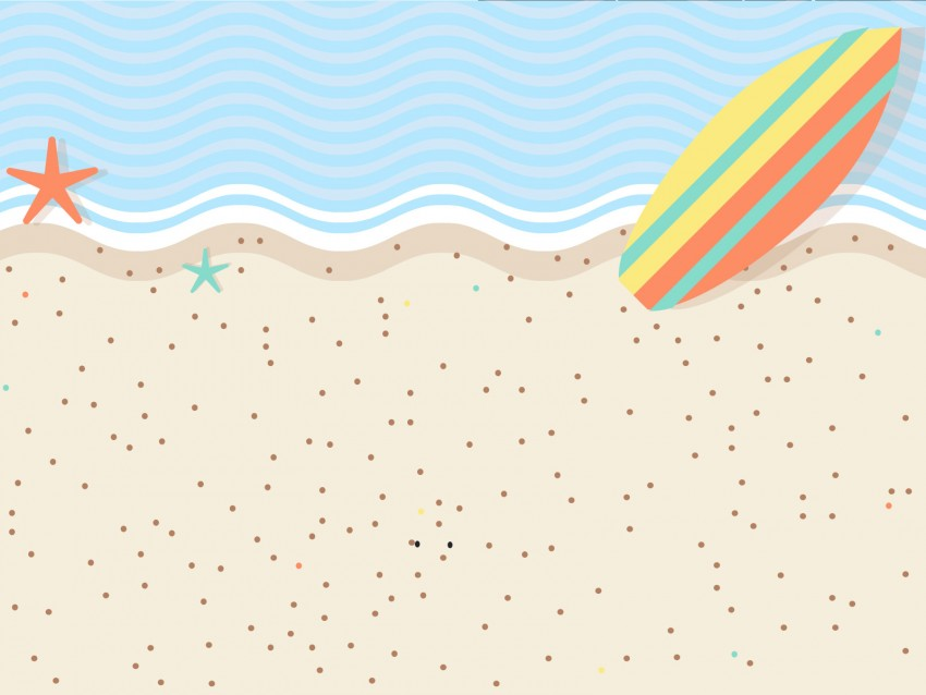 Beach PowerPoint Background Templates Free