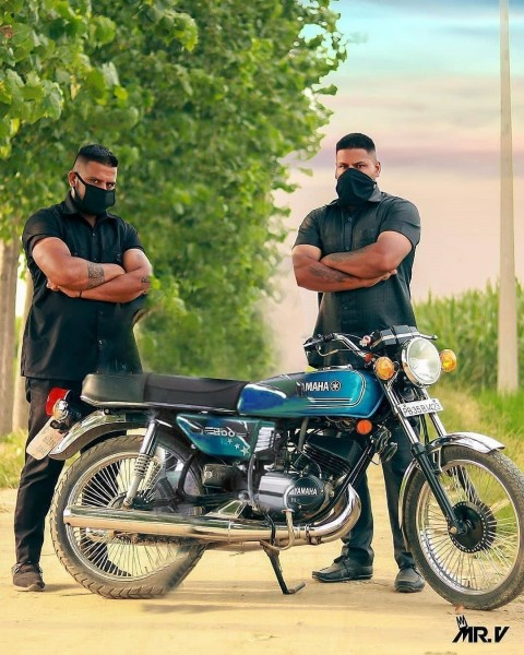 Bike With Body Guard Picsart Background