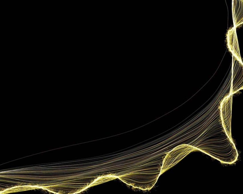 Black And Gold PowerPoint Background Images