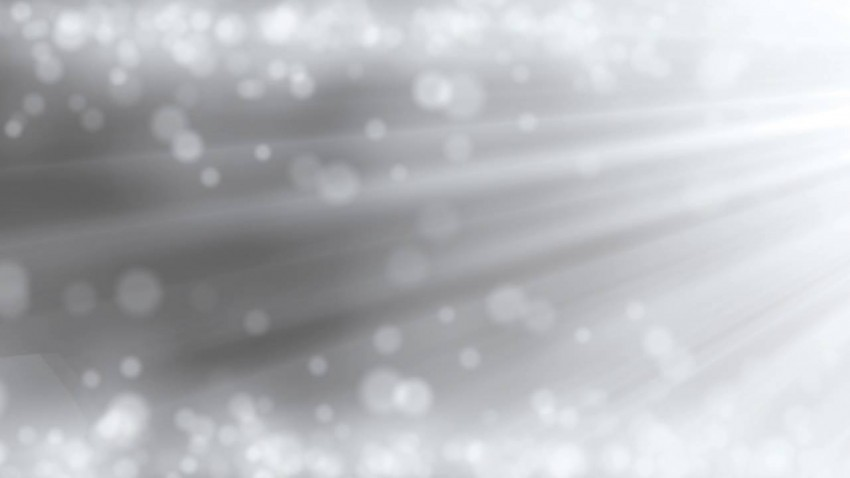 Black And Silver Bokeh PowerPoint Background