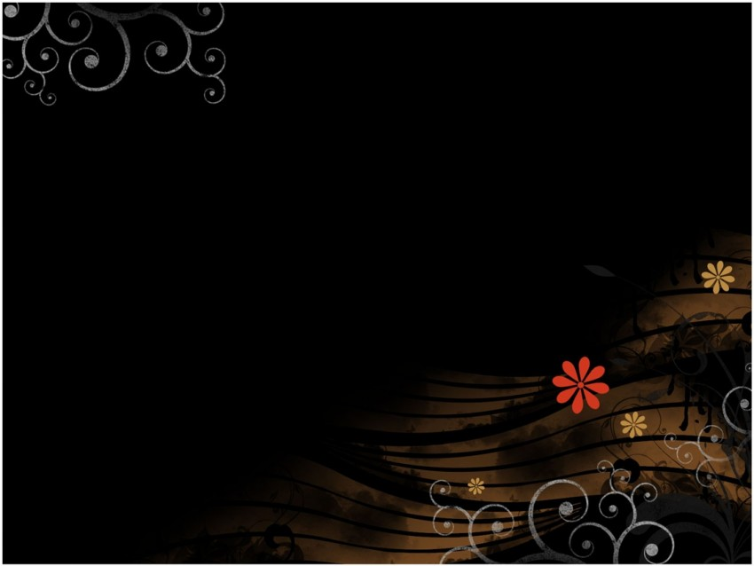 Black Animated PPT PowerPoint Background