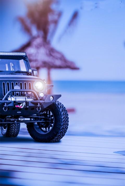 Black Jeep Picsart Editing CB Background
