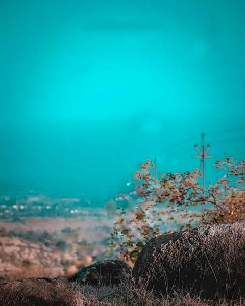 Blue Picsart Editing CB Background