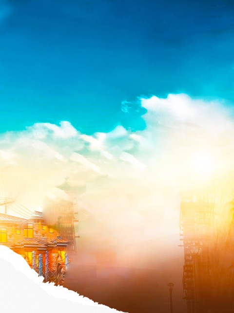 Blue Sky Photo Editing HD Background Download