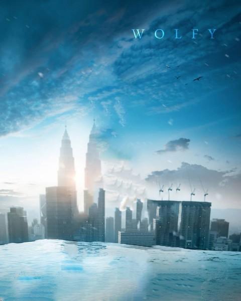 Blue Sky Picsart Editing Background