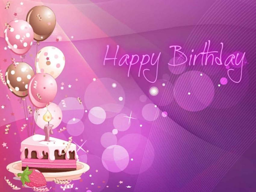 Bokeh Effect Happy Birthday Background Download