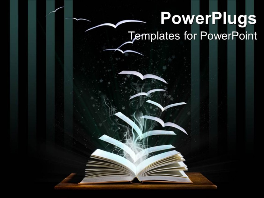 Book PowerPoint Background Download Free