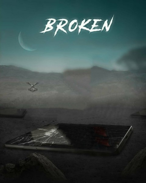 Broken PicsArt Photo Editing Background