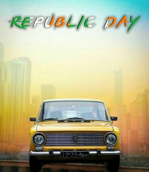 Car 26 January Republic Day Photo Editing Background