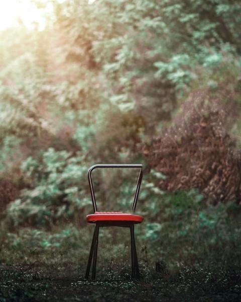 Chair Vijay Mahar Background
