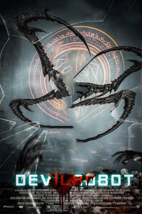 Devil Movie Poster Background FOr Picsart