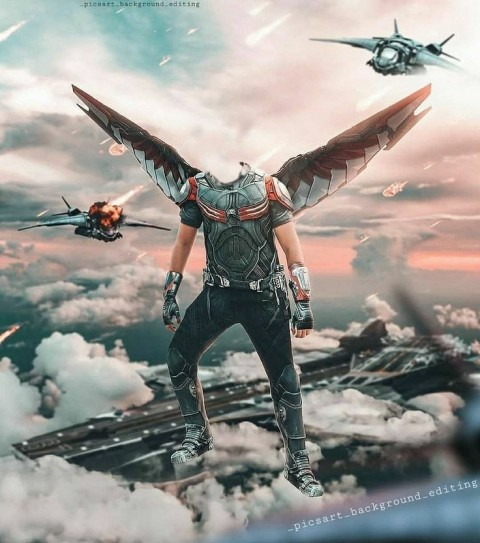 Falcon Photo Editing Background HD Download