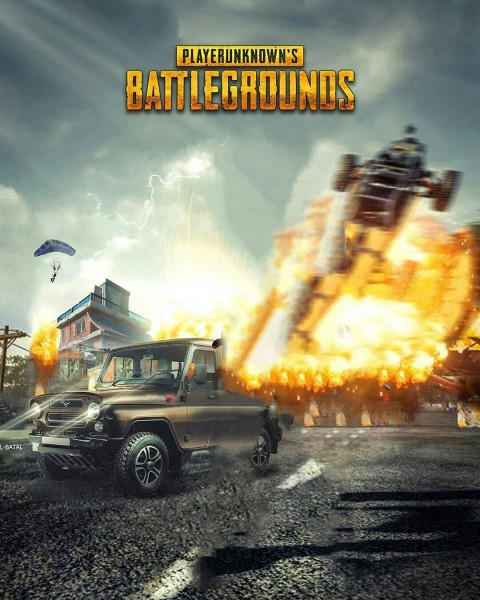 Fire PUBG Editing CB Background Download