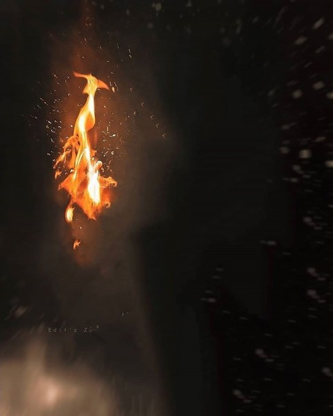 Fire Snapseed Background Full Hd