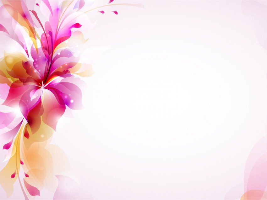 Flower Powerpoint Background Image Photo (1)