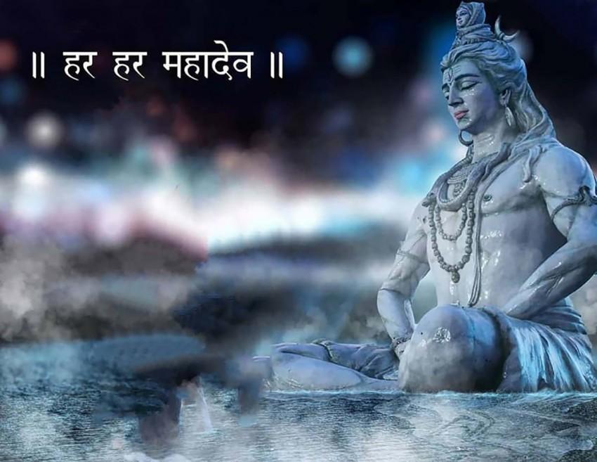 Full Hd Maha Shivratri Mahadev Shiva Editing Background (