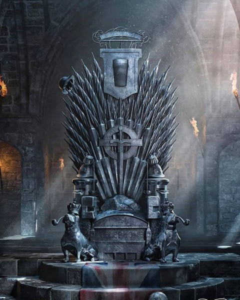 Game Of Thrones Chair PicsArt Photo Editing Background