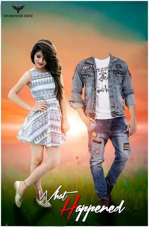 Girl Editing Picsart Background Download