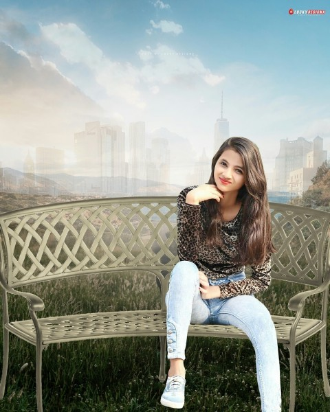 Girl PicsArt Editing Background Download Full HD