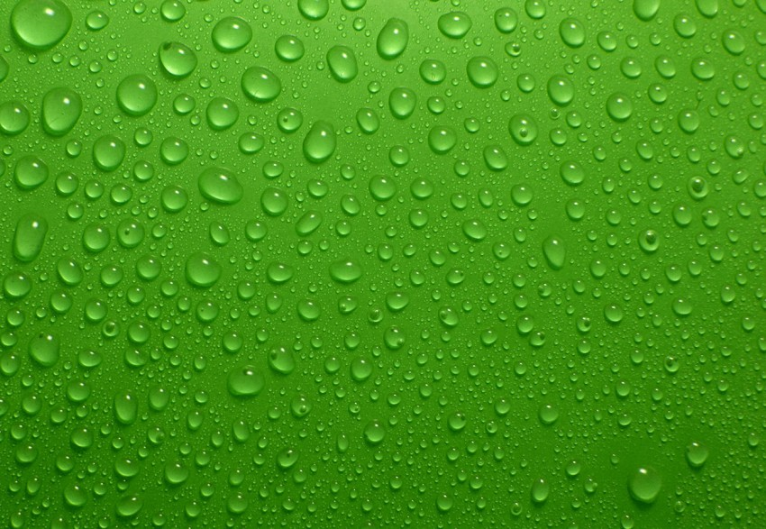 Green Water Drop Background Images Download