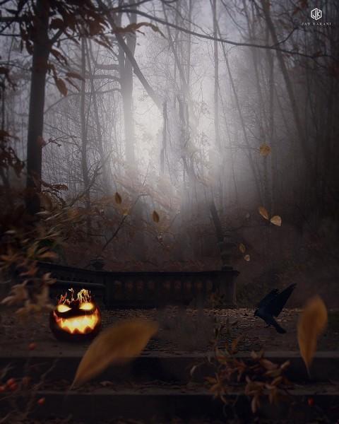 Halloween CB Edits Background HD