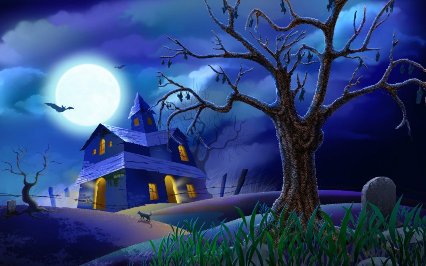 Halloween Powerpoint Background Images Full Hd