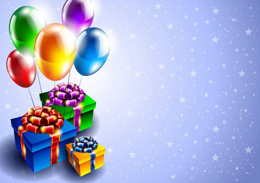 Happy Birthday Background Full HD With Balloon