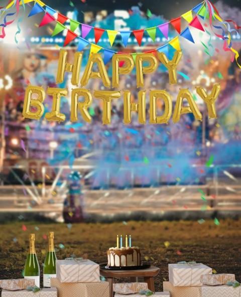 Happy Birthday PicsArt CB Editing HD Background Download