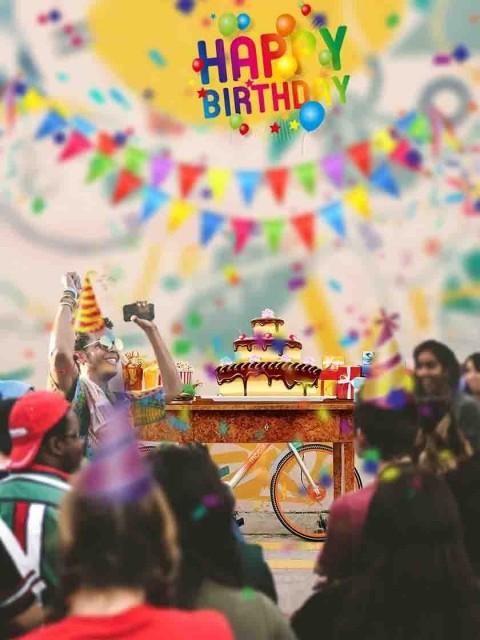 Happy Birthday Picsart Editing Background Party