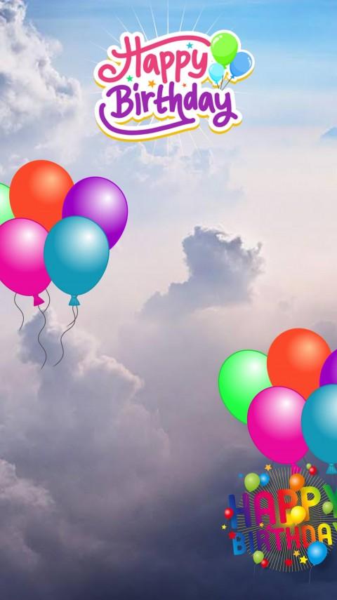 Happy Birthday Picsart Editing Background With Balloon
