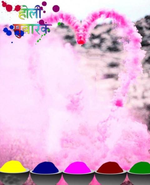Happy Holi Hai Picsart Photo Editing Background
