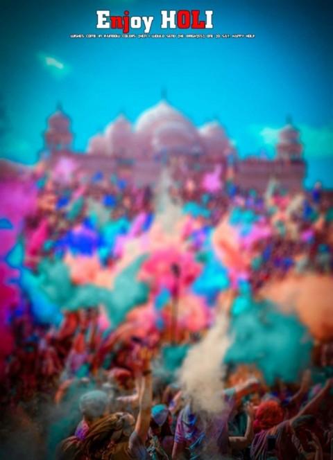Happy Holi Photo Editing Background Hd For Picsart