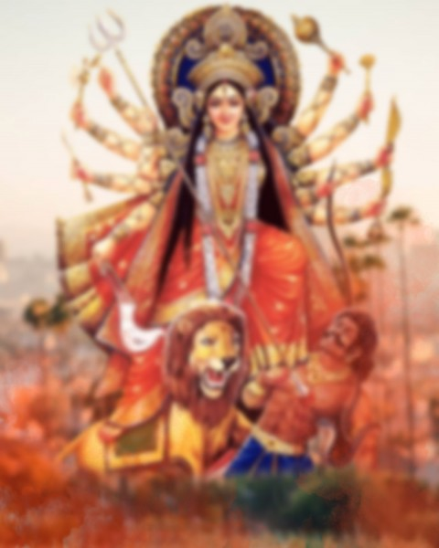 Happy Navratri Maa Durga Puja CB PicsArt Editing Background