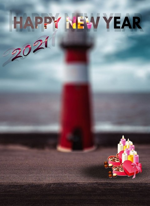 Happy New Year 2021 Backgrounds  For Picsart