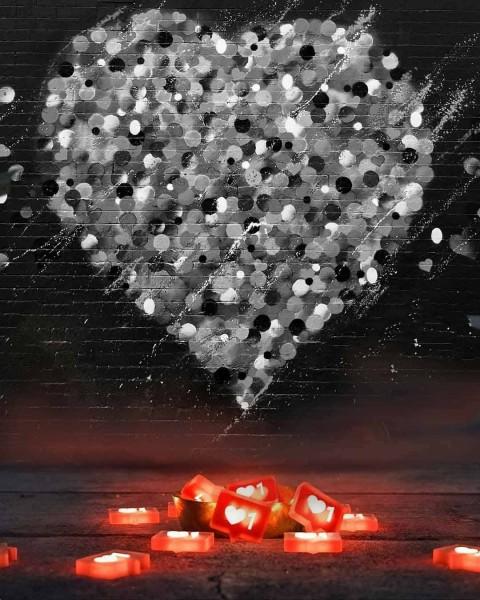 Heart CB Editing Background