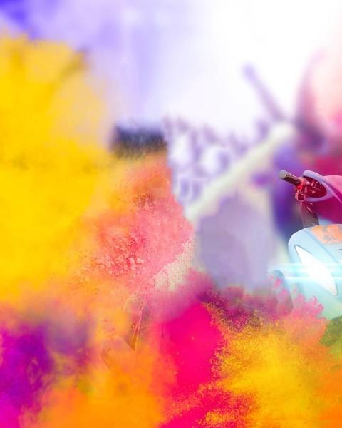 Holi Color Rang Editing CB PIcsArt Background Download