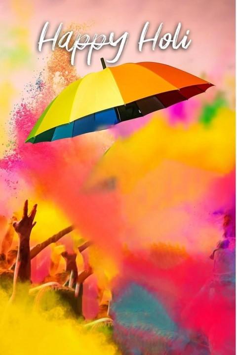 Holi Editing CB PIcsArt Background Umbrella