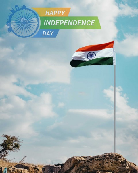 Independence Day PicsArt CB Editing HD Background