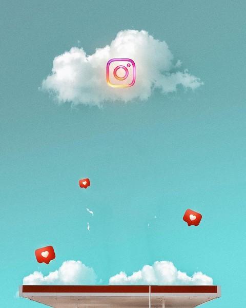 Instagram CB Background Sky Editing