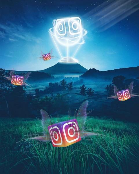 Instagram Editing New CB Background